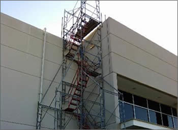Austin TX Stair Tower Scaffolding